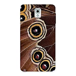 Wings of Butterflies Print Back Case Cover for Galaxy Note 3