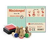 Stemplino Ministempel Füchse - Mix