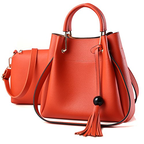 Vincico, Borsa a spalla donna nero Black Orange