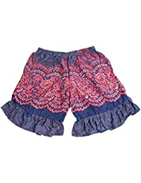 Lofbaz Niña Rayón Impreso Hippie Casual Pantalones Florales Boho
