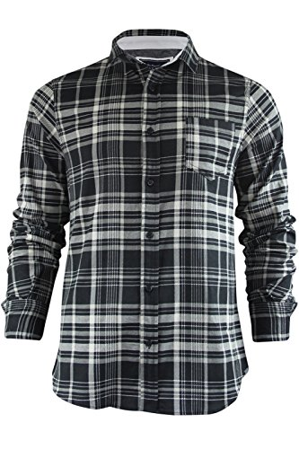 Brave Soul - Chemise casual - Homme Tame - Black/Cream Check