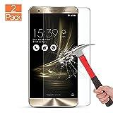 [Lot de 2] Zenfone 3 Deluxe Protection d'écran, GAOBIT Ultra Fine/haute sensibilité/balistique anti-rayures protection d'écran en verre trempé pour Asus Zenfone 3 Deluxe (ZS570KL)