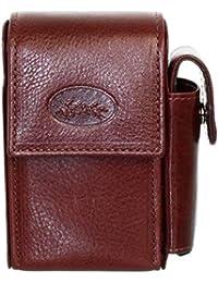 Francinel [L8426] - Pochette ceinture cuir 'Lafayette' noir (12x9x3 cm) Abcdoy
