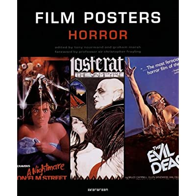 Film Posters Horror : Edition en langue anglaise