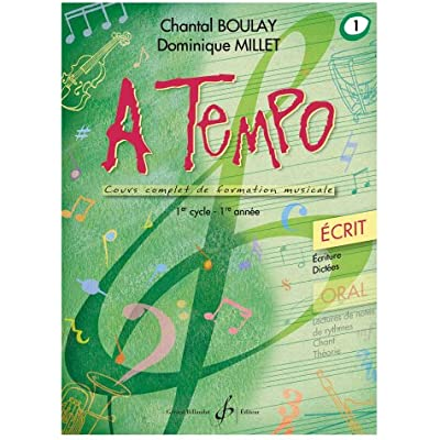 A Tempo Partie Ecrite Volume 1 Pdf Download Free