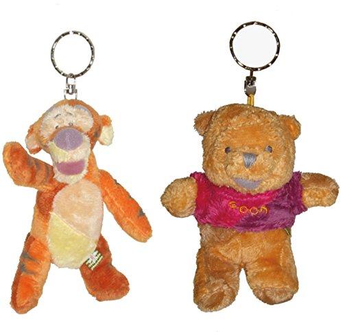 Winnie und Tiger - Disney - Plüsch Schlüsselanhänger - 22004-05 (Disney-plüsch-tiger)