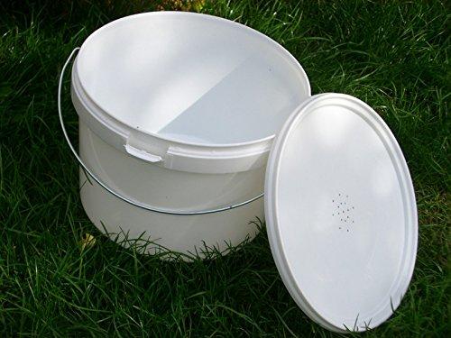 simonthebeekeeper 6 x Beekeepers 1/2 Gallon CONTACT FEEDERS 4