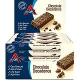 Atkins ADV Chocolate Decadence Barritas - Paquete de 16 x 60 gr - Total: 960 gr