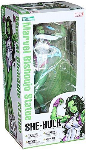 Kotobukiya She-hulk Marvel Comics - Bishoujo Statue - Kotobukiya Action Figure By Kotobukiya Picture