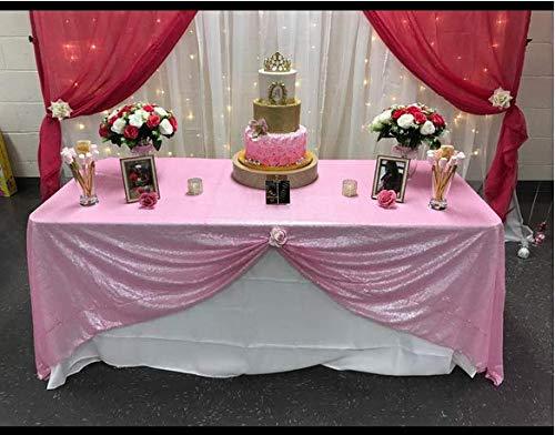 Zdada Hochzeit/Home Dekoration Sparkly Tischdecke Pailletten Tisch Cover 55