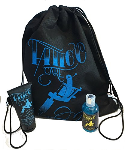 TATTTO KIT XL AFTERCARE (CRÈME PANTHÉNOL TATTOO CARE 100g + SAVON TATTOO SOAP 100ml)