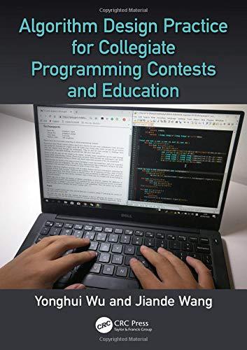 Algorithm Design Practice for Collegiate Programming Contests and Education