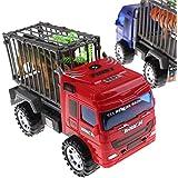 Alcoa Prime Pull Back Animal Transporter Car Toys Kids Educational Toys Truck Car ModelsP&T