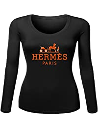 HMS Hermes Embroidered long sleeve Tops T shirts - Top à manches longues - Femme