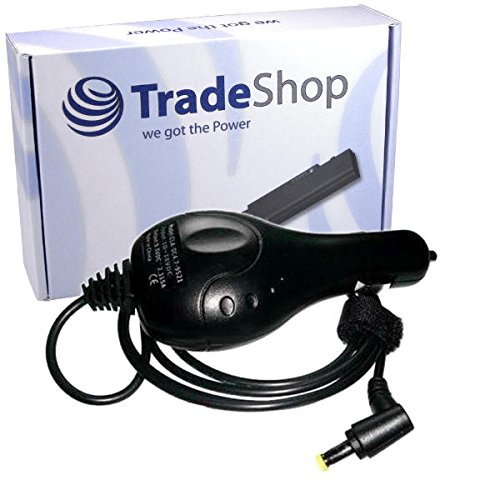 Notebook Laptop KFZ Ladegerät Ladekabel Adapter 19V 1,6A für Acer Aspire P-531h 531-H 751-H Aspire Timeline 1400 1800 1820 1820PT 1830 1830T eMachines 300 Aspire one 521 532 532H 571H 721 752