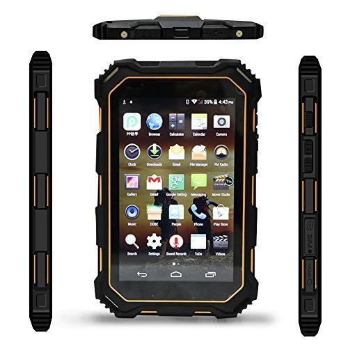 "WinBridge S933 Outdoor Rugged Tablet IP68 7.0"" Android 5.1 Quad Core CPU HD 1280x800 2GB RAM +16GB ROM wasserfest, stossfest und Staubdicht Industrial Tablet"