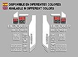 PEGATINAS ROCK SHOX BOXXER F174 VINILO ADESIVI DECAL AUFKLEBER MTB STICKERS BIKE BLANCO