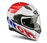 Airoh Motorrad Helme Movement S Cut, Black Gloss, Größe XL