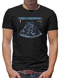 Touchlines Merchandise Ripley X-Ray Alien T-Shirt Camiseta para Hombre