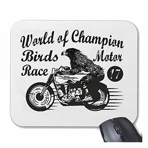 ORLD OF CHAMPION ADLER GEIER BEI MOTORRADFAHRERN BIRDS MOTOR RACE BIKER ROCKER MOTORRAD CHOPPER MOTORRADCLUB MC MOTORRADFAHRER für ihren Laptop, Notebook oder Internet P ()