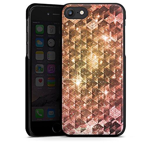 Apple iPhone X Silikon Hülle Case Schutzhülle Galaxie Universum Muster Hard Case schwarz