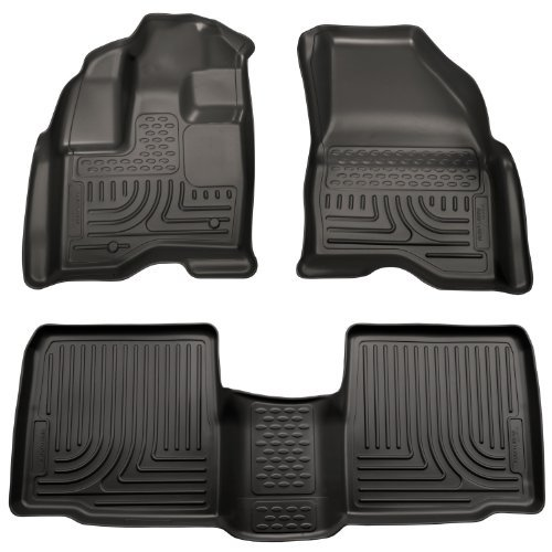 husky-liners-custom-fit-front-and-second-seat-floor-liner-set-for-select-ford-taurus-models-black-by