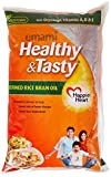 #3: Emami Healthy and Tasty Refined Rice Bran Oil Pouch, 1L