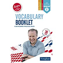 Vocabulary Booklet pocket (Spanish Edition)