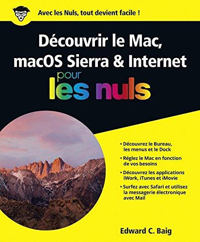 Découvrir le Mac, macOS Sierra et Internet pour les Nuls grand format