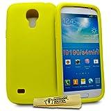 Accessory Master - Cover in Silicone, per Samsung Galaxy S4 Mini i9190, Colore: Giallo