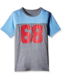 The Children's Place Boys'  Short Sleeve Pieced Sports Screenprint Active T-Shirt