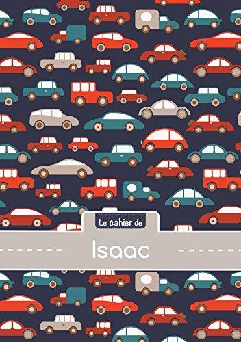 Le cahier d'Isaac - Petits carreaux, 96p, A5 - Voitures