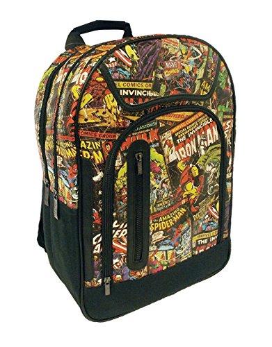 Marvel Comics Tasche, offizielles Lizenzprodukt Collection Rucksack (Marvel Comics Rucksack)
