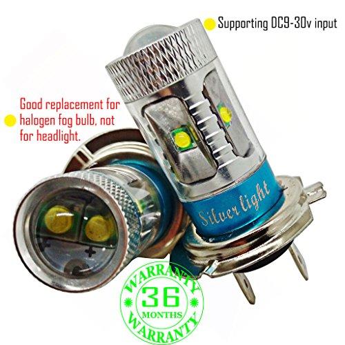 Preisvergleich Produktbild Wiseshe H7 birne led lampen autolampe DC9-30v 3 Jahre Qualitätssicherung (Satz von 2) H7 6 led Hochleistungs rot