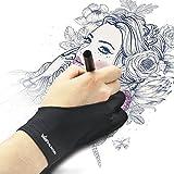 Huion Künstler-Zeichenhandschuh Zeichenhandschuh für Grafik-Zeichentablett Uni- Größe mit zwei...