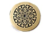 New Lute Hole Soundhole Cover Acoustic Electric Guitar Feedback Buster #01 Maple