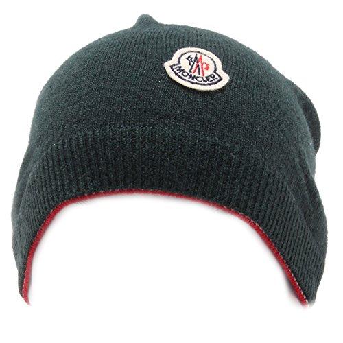9572Q cuffia bimbo MONCLER verde lana berretto hat kid [S-43 CM]