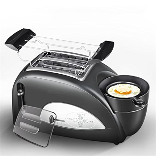 Lh$yu Toast and Egg Two Slice Toaster and Egg Maker, Roasted croissants Omelette breakfast Fully automatic the temperature 1200 W For Home – Black high quality