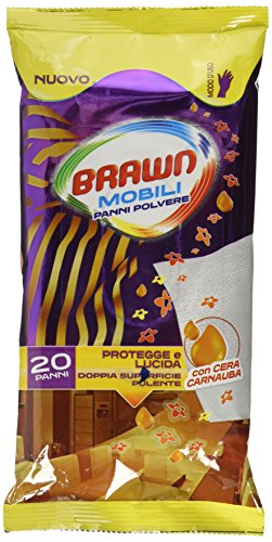 Brawn Salviette Mobili X 20