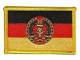 Flaggen Aufnäher Deutschland DDR Nationale Volksarmee NVA