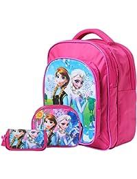 e6997da69c67 OKJI 14 Inches Stylish School Bag - Combo For Girls- Kids Back Pack combo (