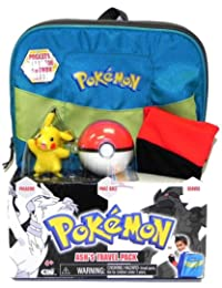 Pokemon Black & White Ash's Travel Pack Costume Gift Set Backpack