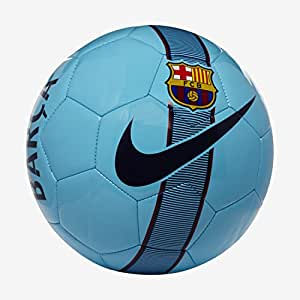 Nike FCB NK SPRTS Pallone, Unisex-Adulto, blu/rosso (polarized blue/noble red/deep royal blue), 5