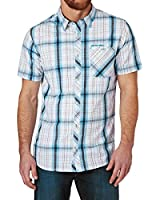 Animal Switches Short Sleeve Shirt - Kingfisher Blue