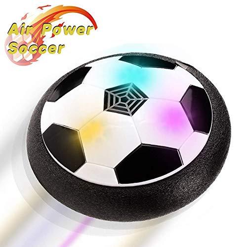 PUZ Toy Geschenke für 3-8 Jährige Jungen Hover Fußball Kinder Spiele für Draussen Innen Fussball Geschenke für 4-7 Jährige Jungen Schwarz