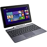 ASUS Transformer Book TF100TAF 10.1 inch Tablet (Intel Atom Z3735F 1.33 GHz, 2 GB RAM, 500 GB HDD + 32 GB eMMC, Webcam, Integrated Graphics, Windows 8.1 with Free Windows 10 Upgrade) - Black (Previous model)