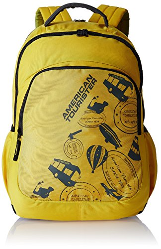 American Tourister 23 Lts Yellow Casual Backpack (69W (0) 06 001)