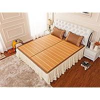 Coole Matratze Bambusmatten Matten gefaltete doppelseitige Matten doppelte Bambusmatten dreiteilig mit Kopfstütze 1,8 * 2,2m Bett Coole Bambusmatte ( größe : 1.5m bed ) preisvergleich bei kinderzimmerdekopreise.eu