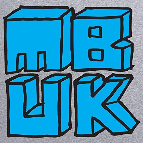 MBUK Blocks T-Shirt, Herren Grau Meliert