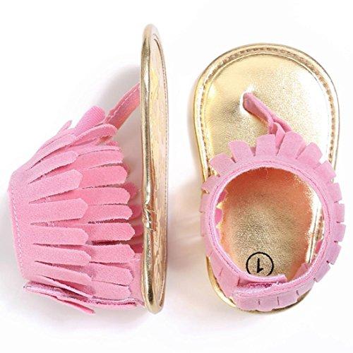 e34546e7171 Zapatos Bebé niña primeros pasos ❤ Amlaiworld Sandalias de verano niña Bebés .
